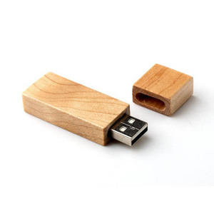 wholesale free custom logo 2gb wooden usb flash drive for gift