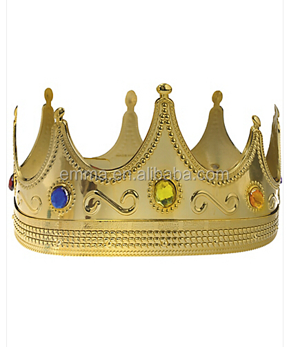 Royal Design Cheap Price Custom King Crown Decorations Wholesale