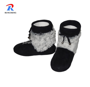 661a9889c229d Cashmere women girls winter indoor boots bootie shoes