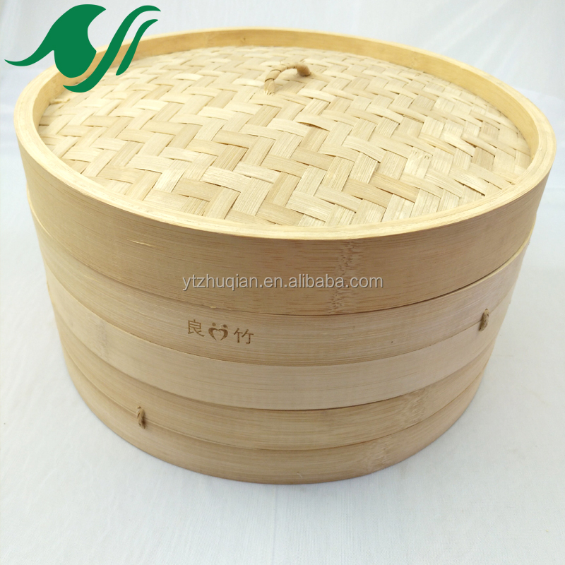 Groothandel oude stijl Chinese dim sum bamboe stoomboot