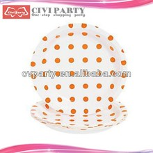 Paper Food Tray Kids Party Plates Simili Paper