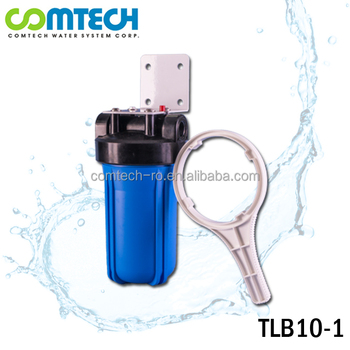 Taiwan Supplier 10 Inch Big Blue Wall-Mounted Whole House Water Filtration