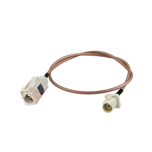 Pigtail Coaxial Fakra B Male To Female Connector Antenna Cable With Rg316 Assembly