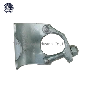 MS 1462 EN 74 forged galvanized putlog/beam clamp coupler for scaffolding