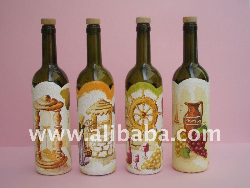 Pintado botellas