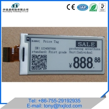 2.9'', 4.2'' Graphic LCD Digital Retail Shelf Price Label E-paper Display