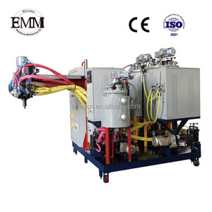 EMM105-2 polyurethane thermoplastic elastomer foam machine