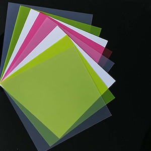0.5mm 0.6mm Light Weight Thin Polypropylene Sheet PP Plastic Notebook Cover Sheet