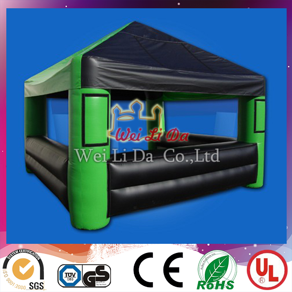 Outdoor house model lawn inflatable tent for trade show used