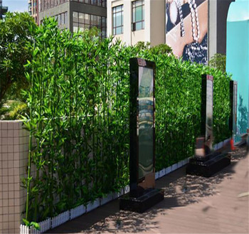 Chinese artificial bamboo tree for outdoor wall decoration for Bambu in vaso prezzo
