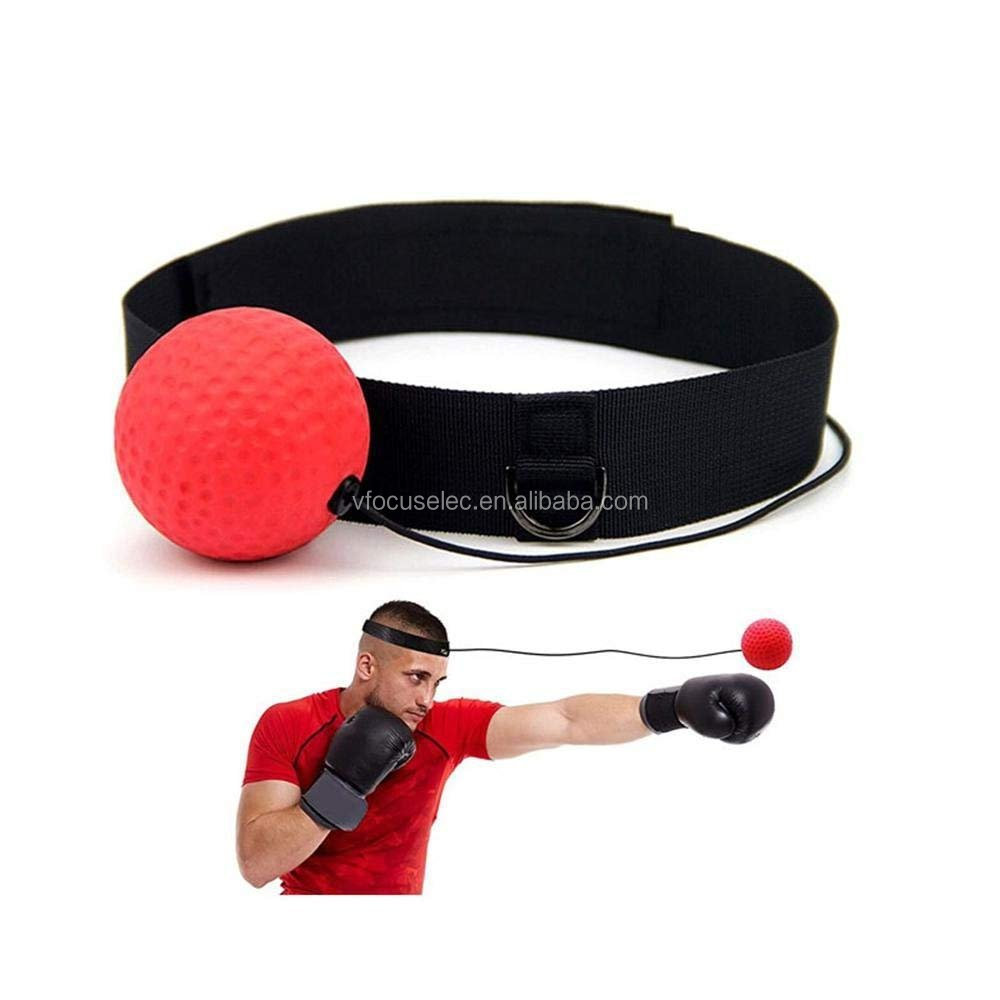 Stirnband Boxing Kampf reflex stanzen magic speed relfex boxen ball reaktion ball