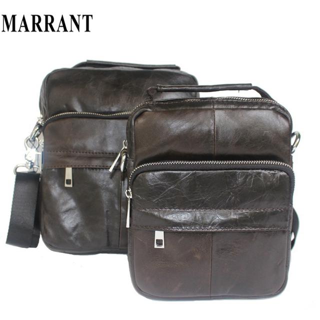 9f85c2bb94fe 100% натуральной кожи мужская сумка новый дизайнер сумки модный дизайн  мужчины кроссбоди .