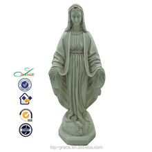 Resin religious marry sculpture for home decor