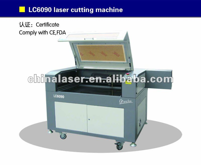 Chinese laser engraver cutter / stone engraving machine LC6090 80W