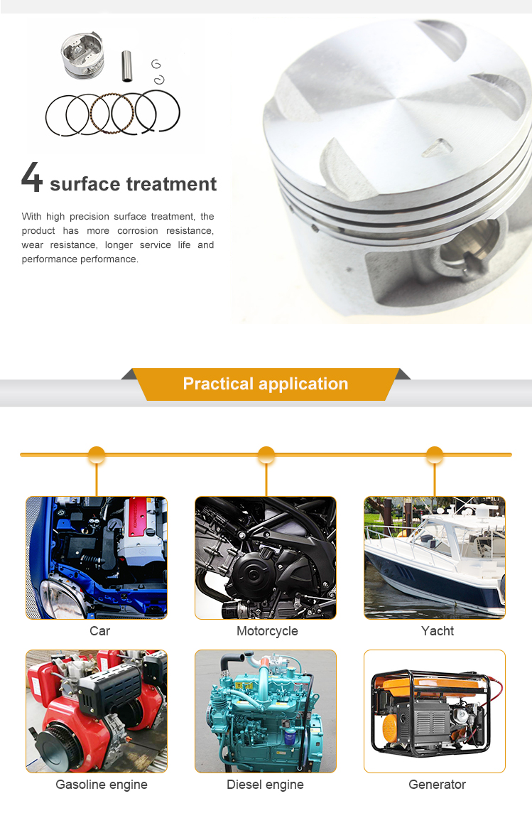 Dt466 Hatz Car Piston Ring 4g13 47mm 50mm 80mm 123mm - Buy Piston Ring,Car  Piston Rings,Hatz Piston Ring Product on Alibaba com