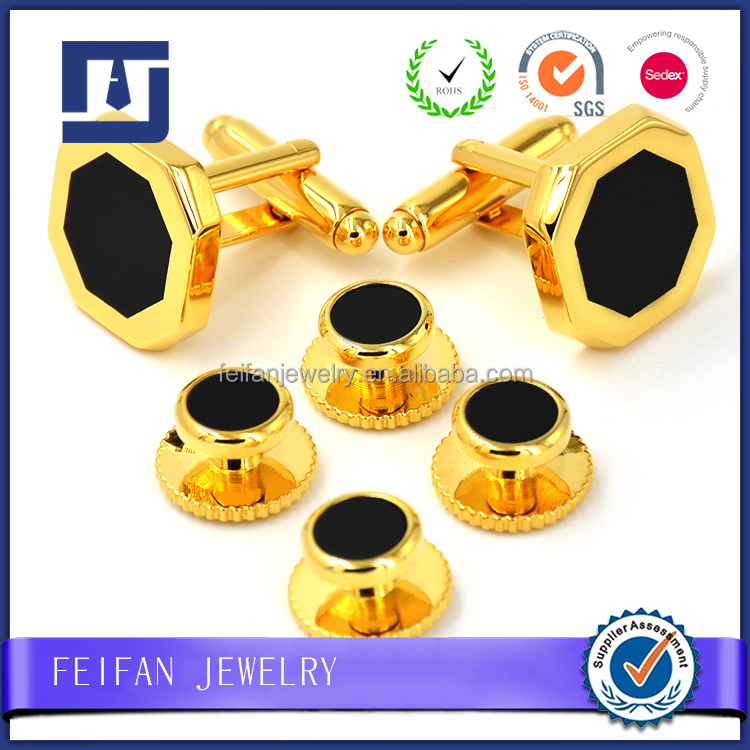 Factory price gold plated jewelry bulk cufflinks for meeting