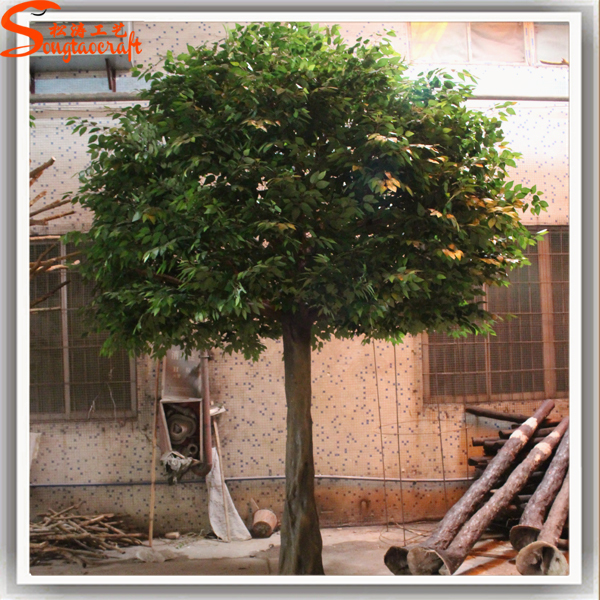 tall artificial trees outdoor