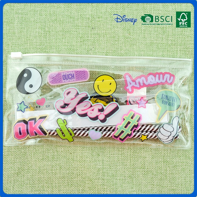 2016 custom cute design stationery set for kids