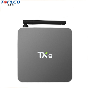 Hot selling High Configuration S912 Octa Core 4K dual band wifi dvb-t2 dvb-s2 android 6.0 tv box