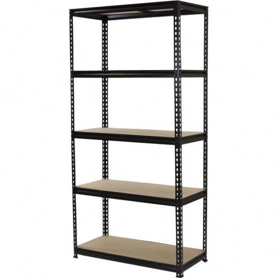 double side multi layers metal boltless shelving