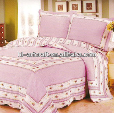 Hot sale super soft pink color bed bug mattress cover