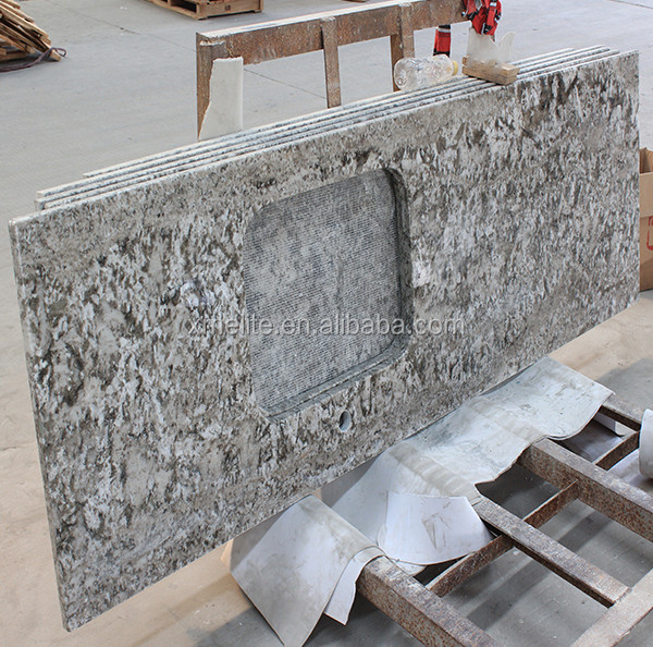 Brazil Bianco Antico Kitchen Granite Countertop With Good Price