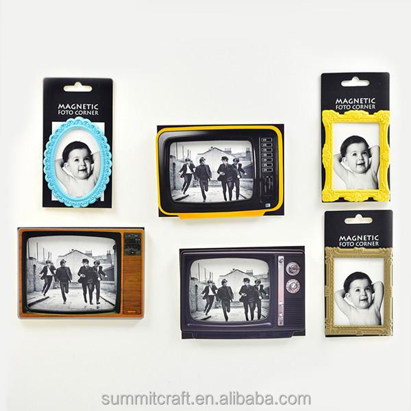 Vintage Tv Set Refrigerator Magnet Picture Frame Buy Refrigerator