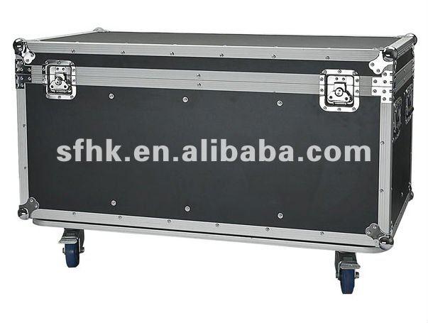 RK CASE,Showtec flightcase for 8 Pars,8 PAR 64 parcans lighting case