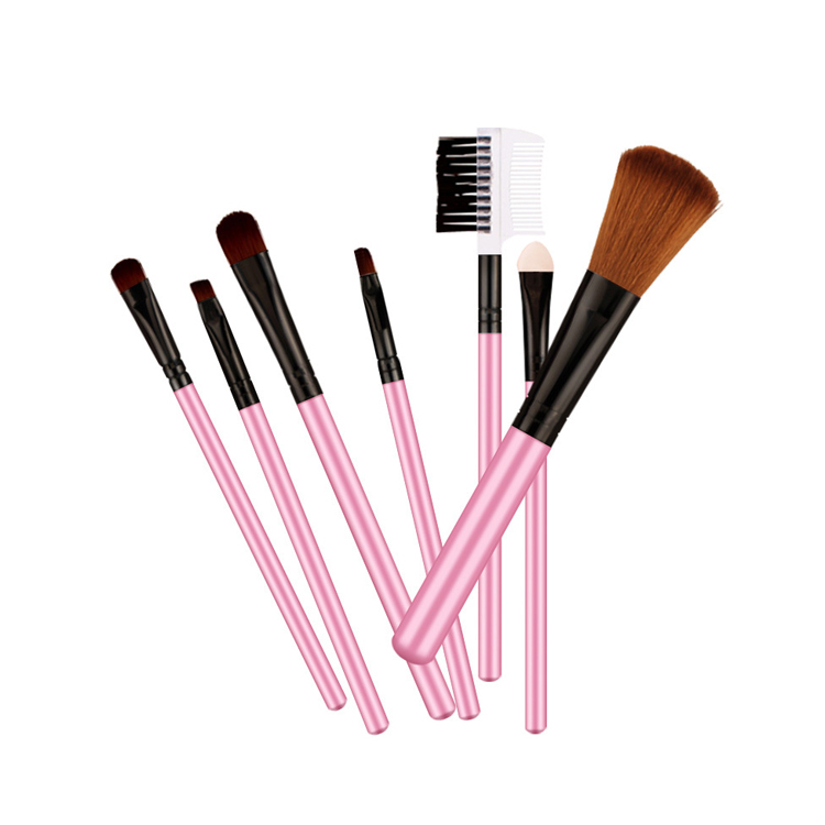 private label bioaqua cosmetic beauty product makeup brush set for female
