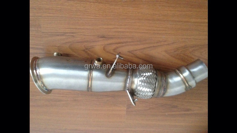 Stainless steel downpipe for bmw n20