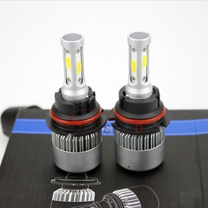 Super bright 9007 S2 led car accessories interior, high power led headlight for car