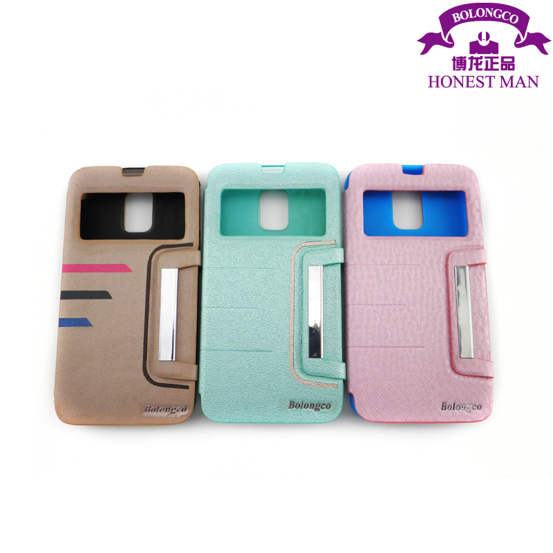 pu wallet mobile phone case for samsung galaxy s5 cell phone cheap price