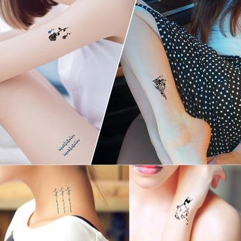 The 60 Pcs Temporary Tattoos Waterproof Beautiful Flowers Tattoo Kit ...
