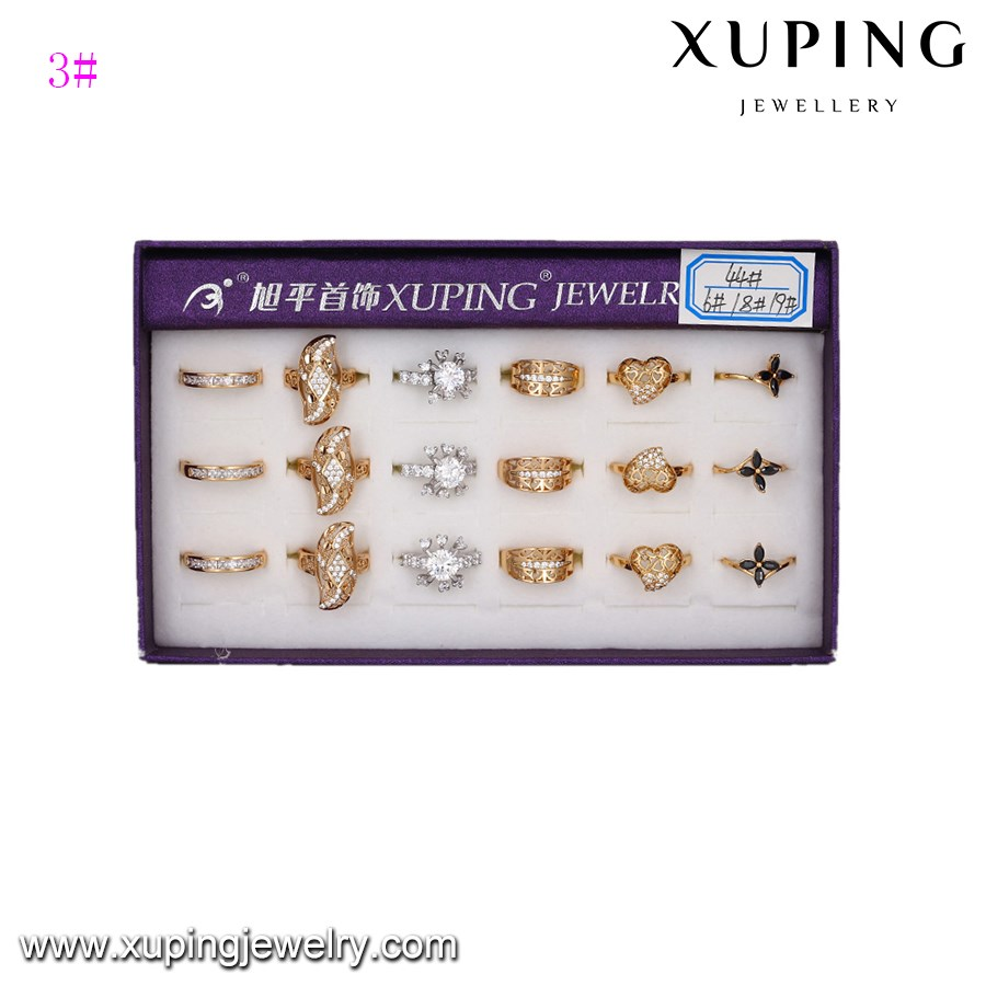 ring-86 Many latest gold plated designs finger women rings