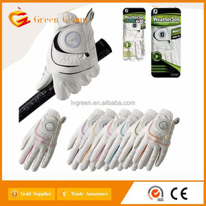 PU Factory hot sale all seasons golf gloves for XXXL size for high man