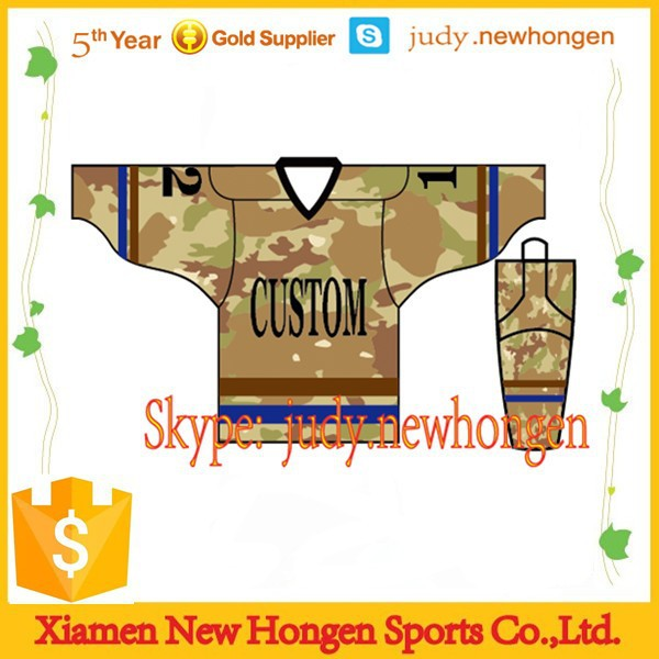 custom printed athletic hockey socks/hockey jersey with numbers and letters