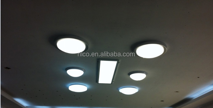 12w With Motion Sensor Round Surface Mounted Led Ceiling Shower ...