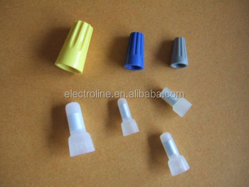 Electric Wire Connectors Terminals | Screw Dead End Wire Cable Connector Double Wings Screw Shell Plastic
