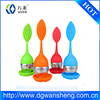 factory tea infuser/stainer,OEM food grade leaf shape Tea Bag
