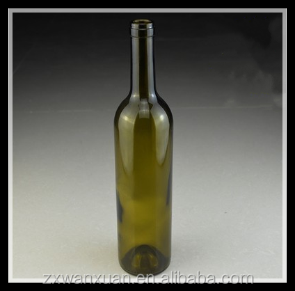 770ML wholesale amber clear empty glass wine bottles for red wine vodka