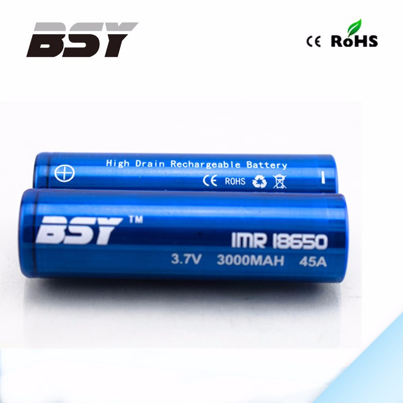 Factory directly sell 18650 3000mah 3.7v Lithium ion rechargeable AAA fb battery
