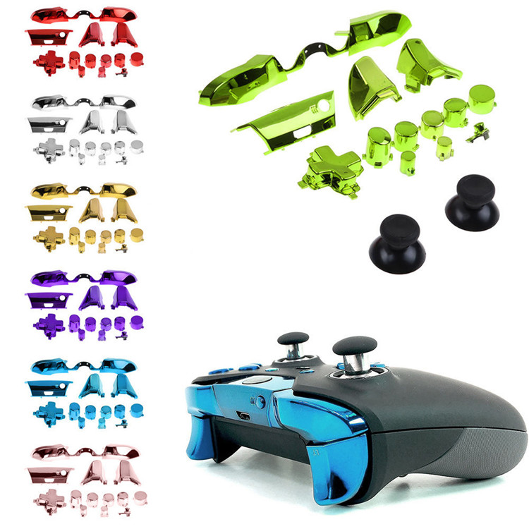 SYYTECH Controller Electroplate button ABXY Full Sets Button For XBOX ONE Controller button