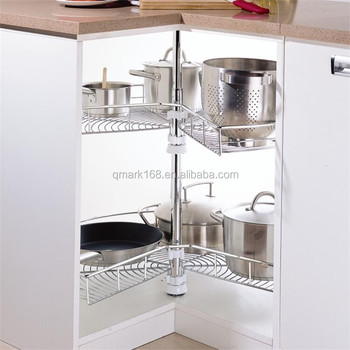 Metal Iron Chromed Wire Kitchen Cabinet Basket /270 Kitchen Cabinet  Revolving Basket( 900.270.800 )   Buy Kitchen Cabinet Basket,Kitchen  Cabinet ...