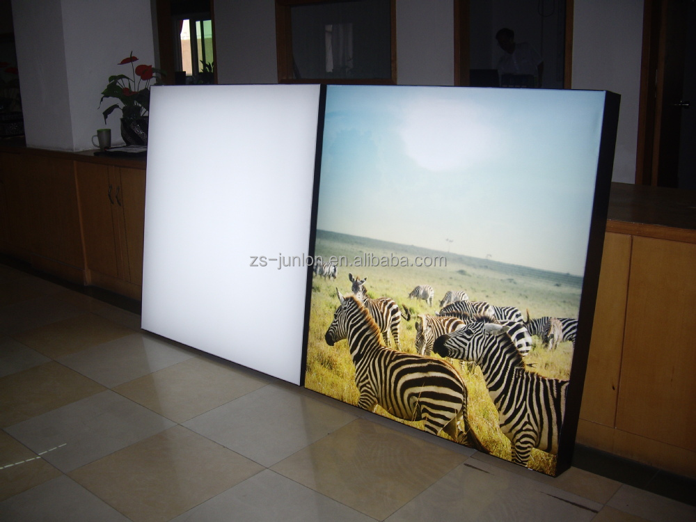 2014 new aluminum material fabric frameless advertising