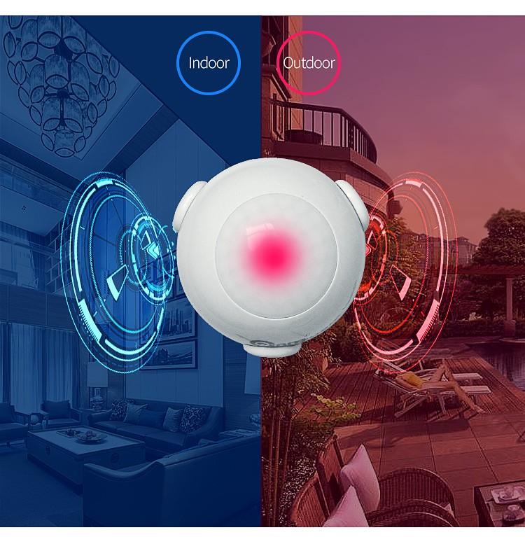 Outdoor Z-wave Multi-function Pir Motion Sensor Home Security Wifi Alarm  Sensor - Buy Home Security Wifi Motion Sensor,Outdoor Alarm Sensor