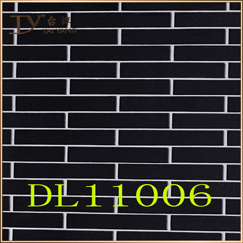 Dl11006 Waterproof Bathroom Decor Black Brick Pattern Wallpaper Buy Brick Pattern Wallpaper Waterproof Wallpaper For Bathrooms 3d Brick Wallpaper