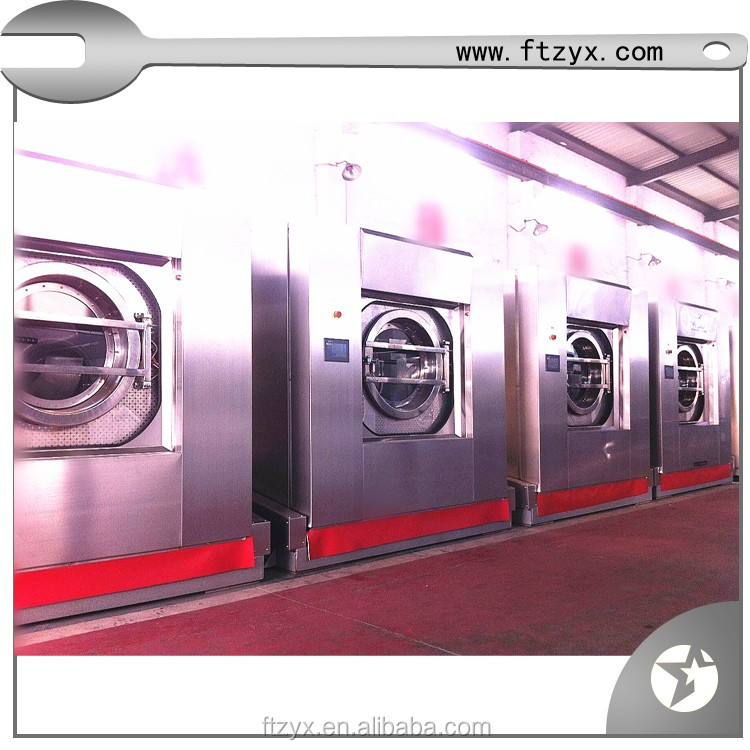 Hospital laundry machine industrial washing machinery and dryer wholesaler