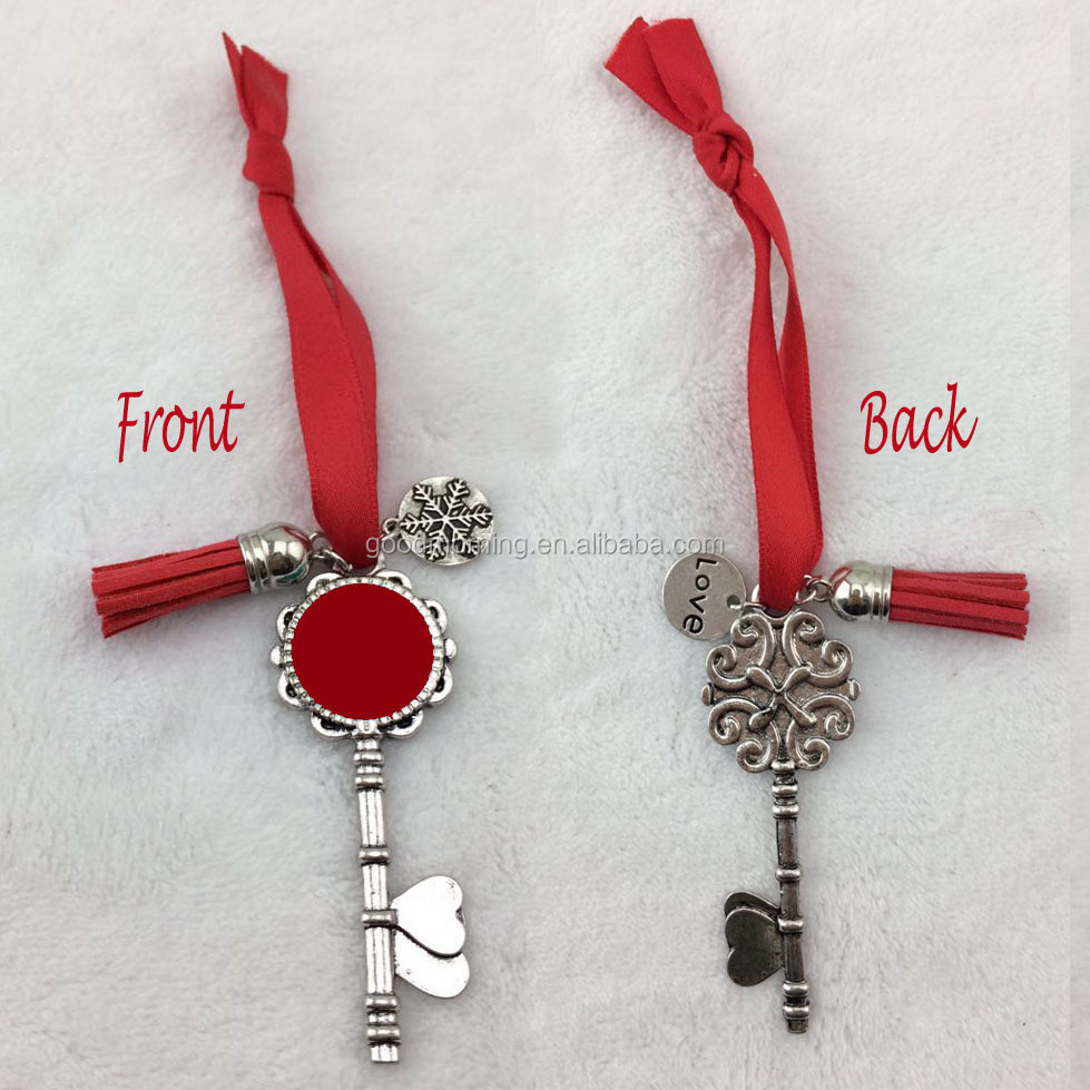 Personalized Tassel Santa Key