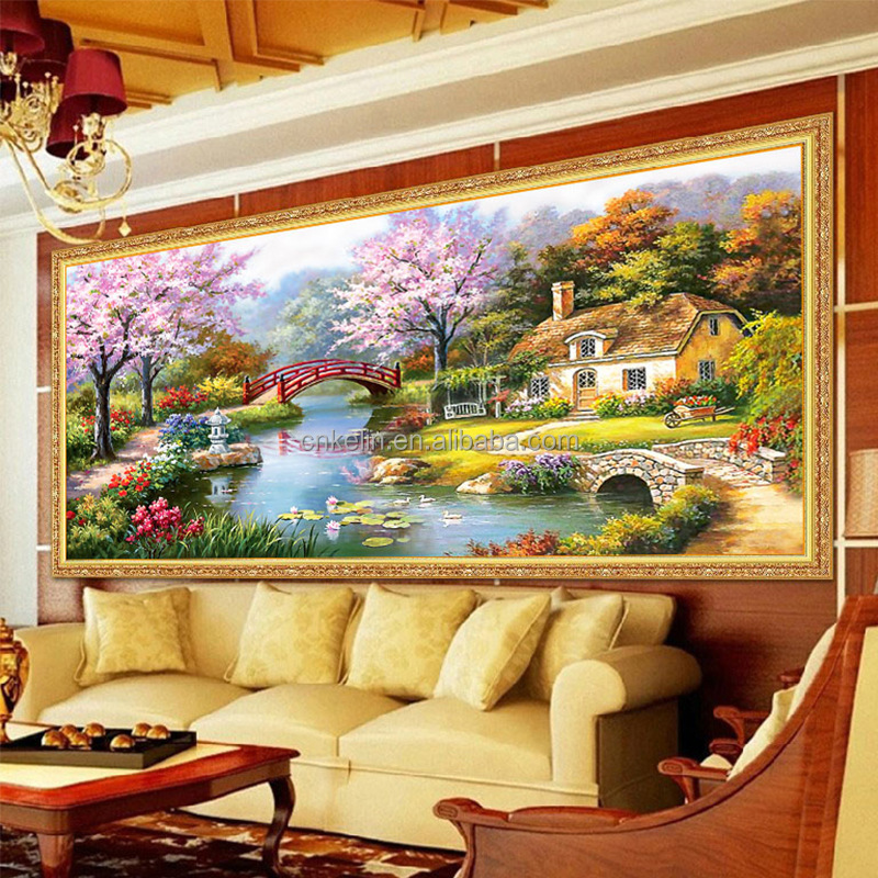 Decorative Cross Stitch Kit Diy Diamond Painting Embroidery By ...