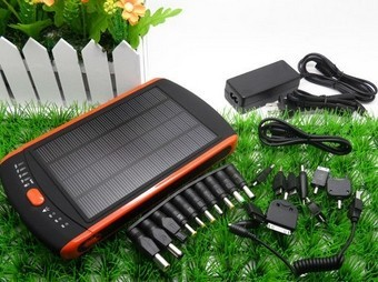 Solar panel Phone Charger 10000mAh, high quality solar power ba